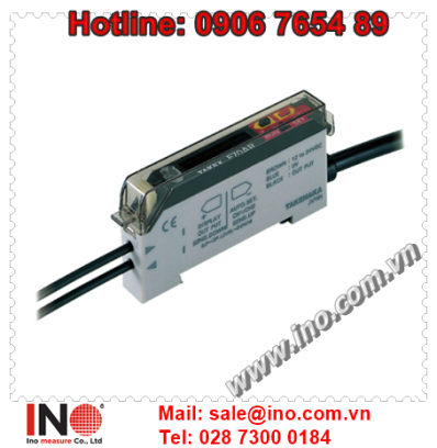 Cam bien soi quang Takex F70AR – F70AG – F70AB – F70AW – F70ARPN – F70AGPN - Digital display Fiber optic sensors - Takex Viet Nam
